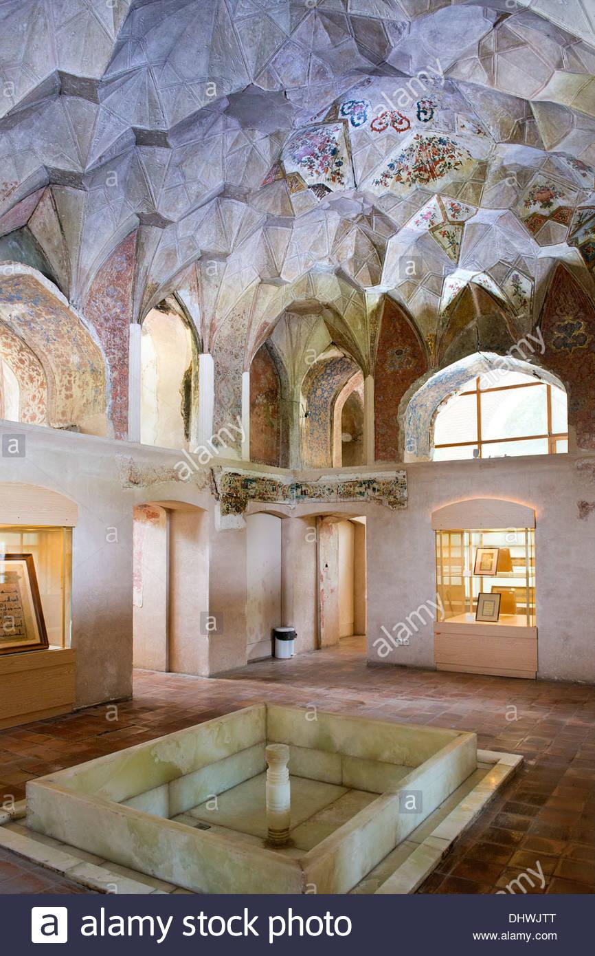 Asia,Irán,Qazvin,Chehel Setoon palace Imagen De Stock
