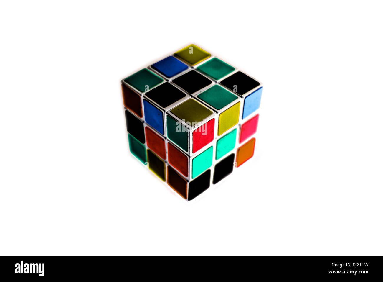 Cubo de Rubik Imagen De Stock