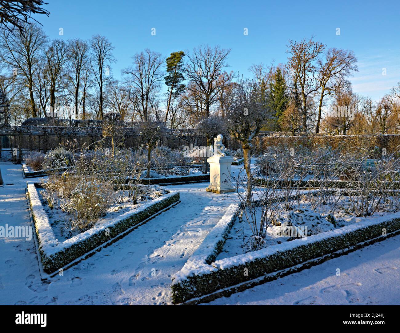 Amor jardín, castillo de Belvedere, Weimar, Turingia, Alemania Imagen De Stock