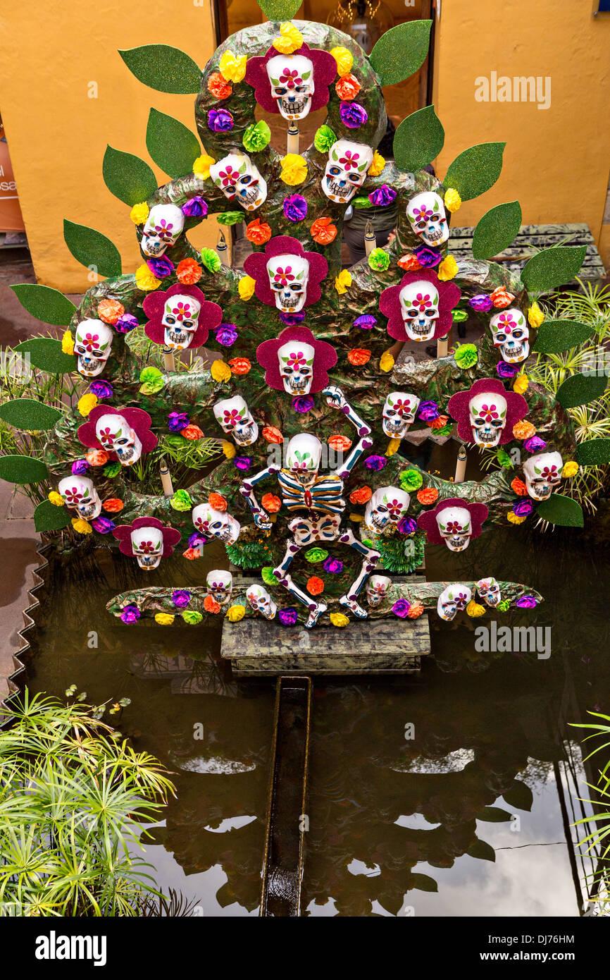 Decoraciones Para El Día De Los Muertos Festival Conocido En