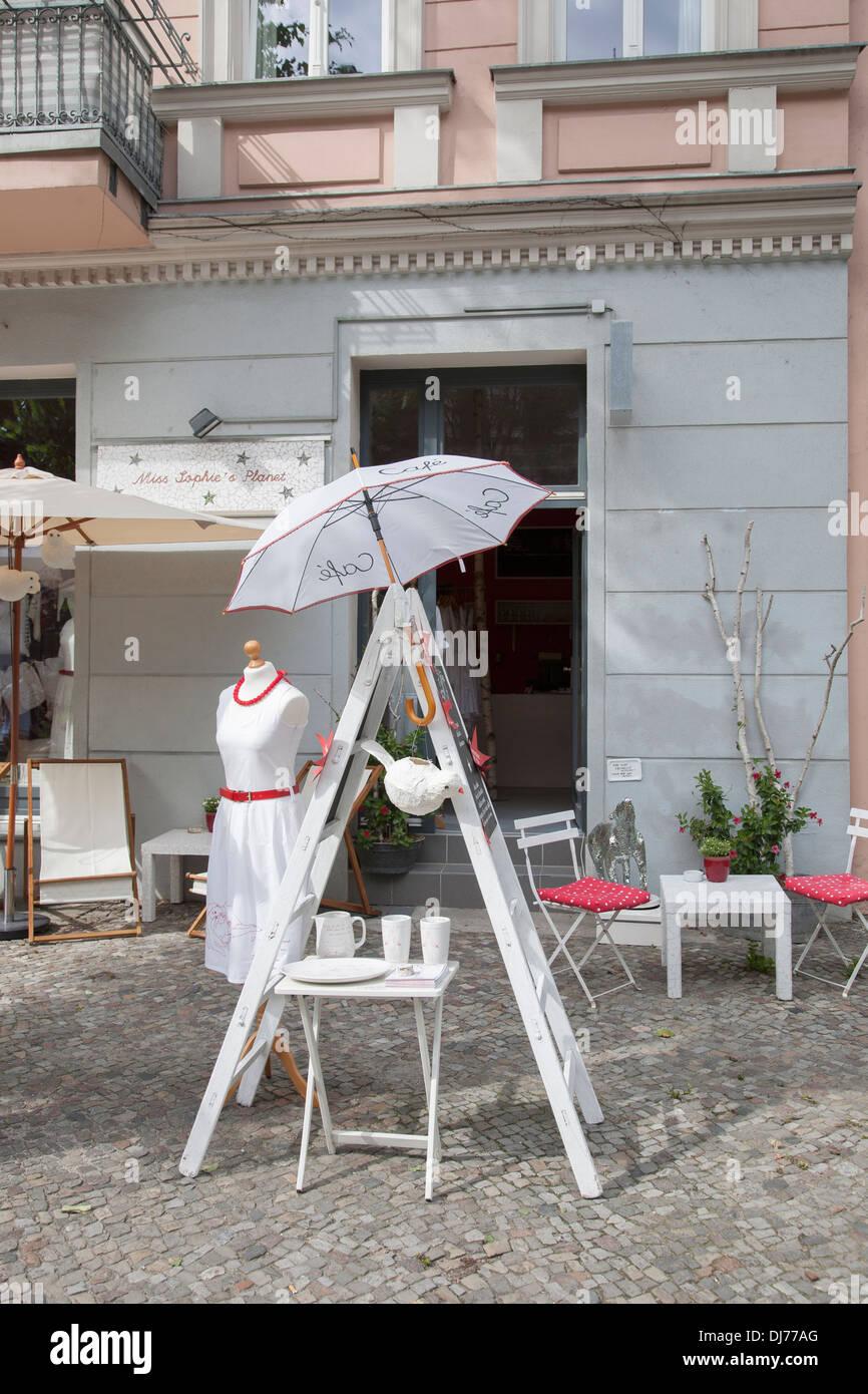 Miss Sophies Planeta Café Terraza Barrio De Prenzlauer Berg