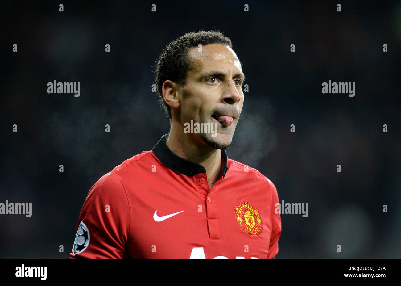Rio Ferdinand Manchester United Football Imágenes De Stock   Rio ... f8029f04faf0b