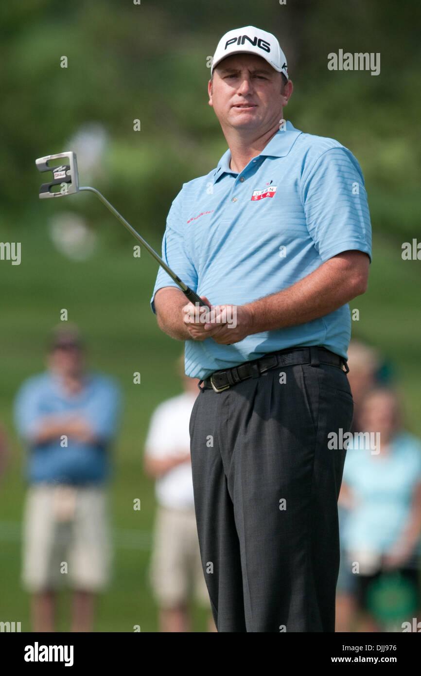 Agosto 08, 2010 - Vernon, Nueva York, Estados Unidos de América - agosto 8, 2010: el golfista profesional BILL LUNDE, Foto de stock