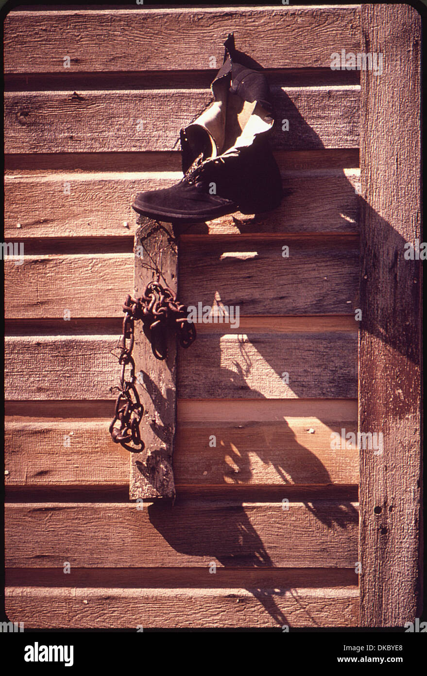 BODIE Parque Histórico del Estado. Uno de los mejor conservados pueblos fantasma en los EE.UU. 543136 Imagen De Stock