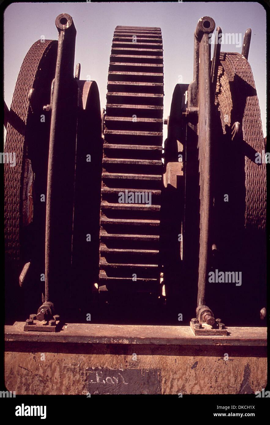 Maquinaria en BODIE Parque Histórico del Estado 543121 Imagen De Stock