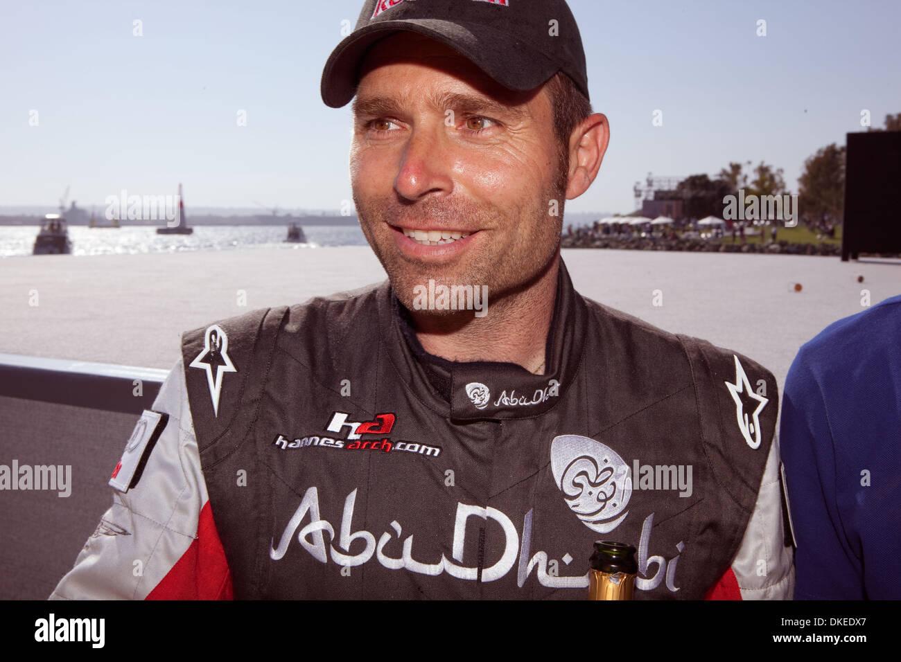 Mayo 10, 2009 - San Diego, California, USA - Tercer lugar fuimos a Hannes Arch de Austria en el 2009 Red Bull Air Foto de stock