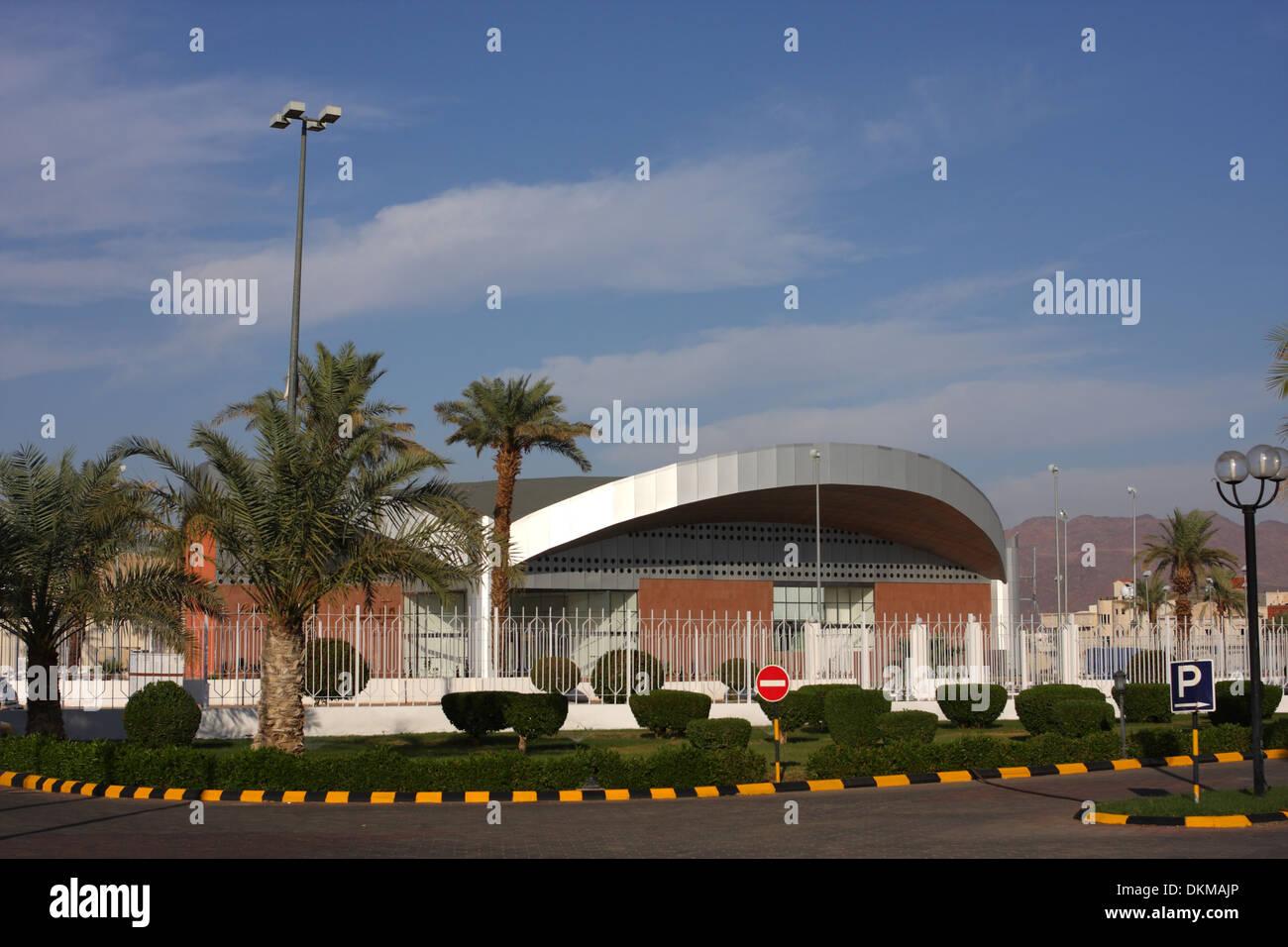 El club de salud del Hotel Le Meridien, Medina, Reino de Arabia Saudita Imagen De Stock