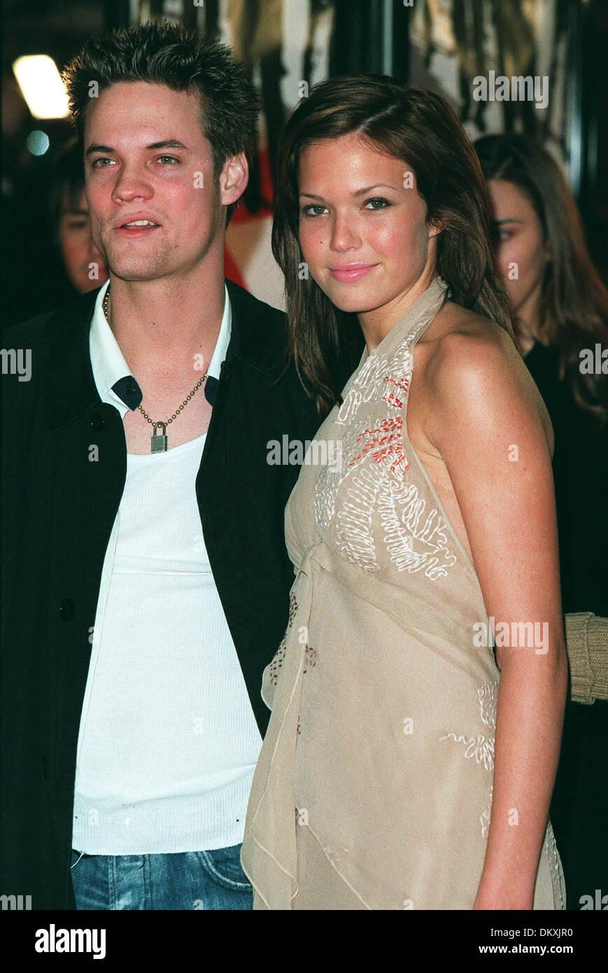 Shane West Y Mandy Moore Actor Y Actriz Los Angeles Ee Uu 05 12 2001 Mn55d32 Fotografia De Stock Alamy