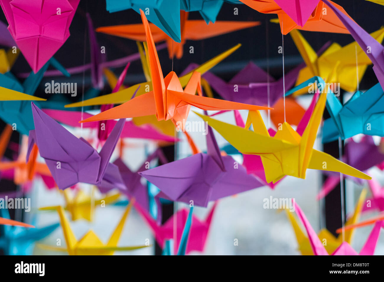 Colorido papel Origami Imagen De Stock
