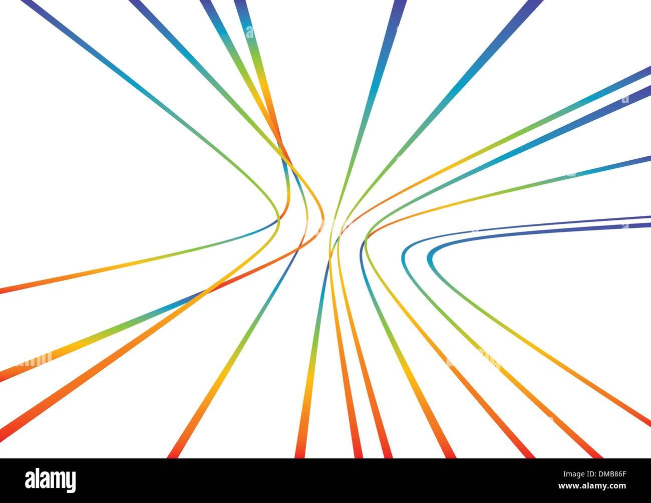 Líneas de patrón abstracto Imagen De Stock