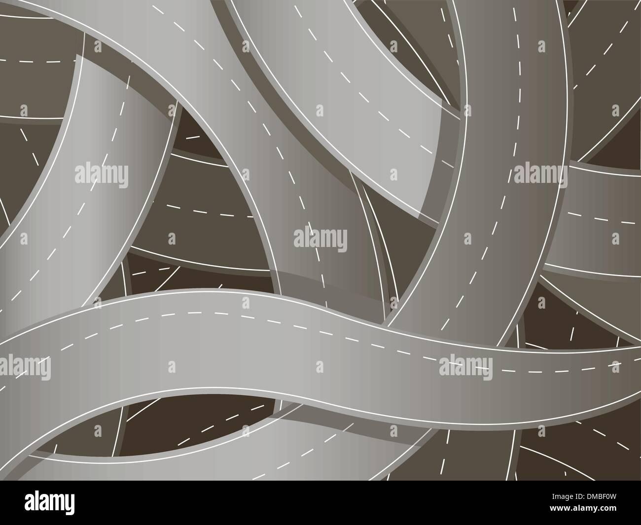 carretera Imagen De Stock