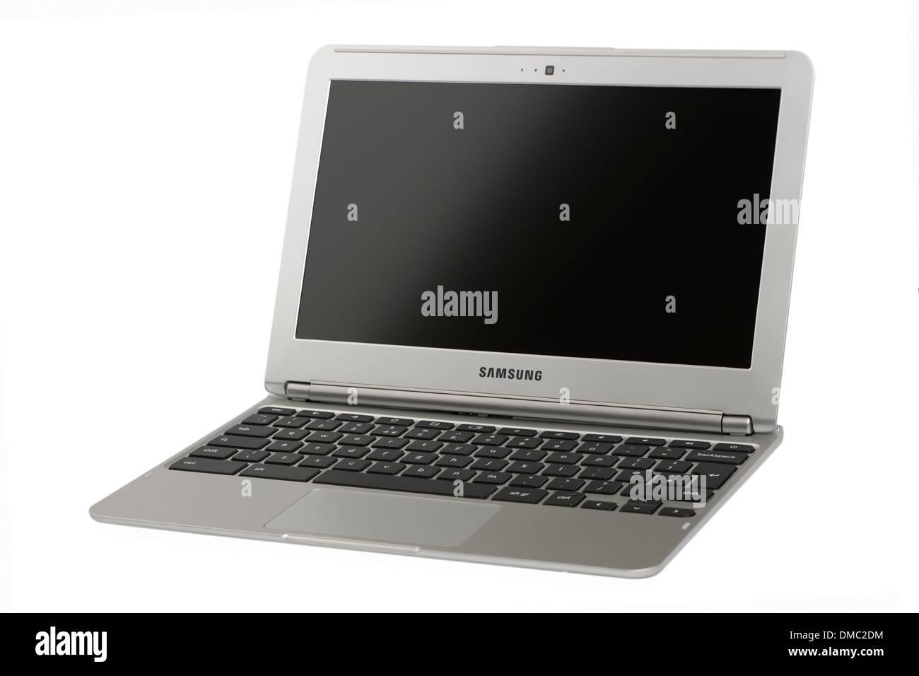 Samsung serie 3 Chromebook Wifi Imagen De Stock