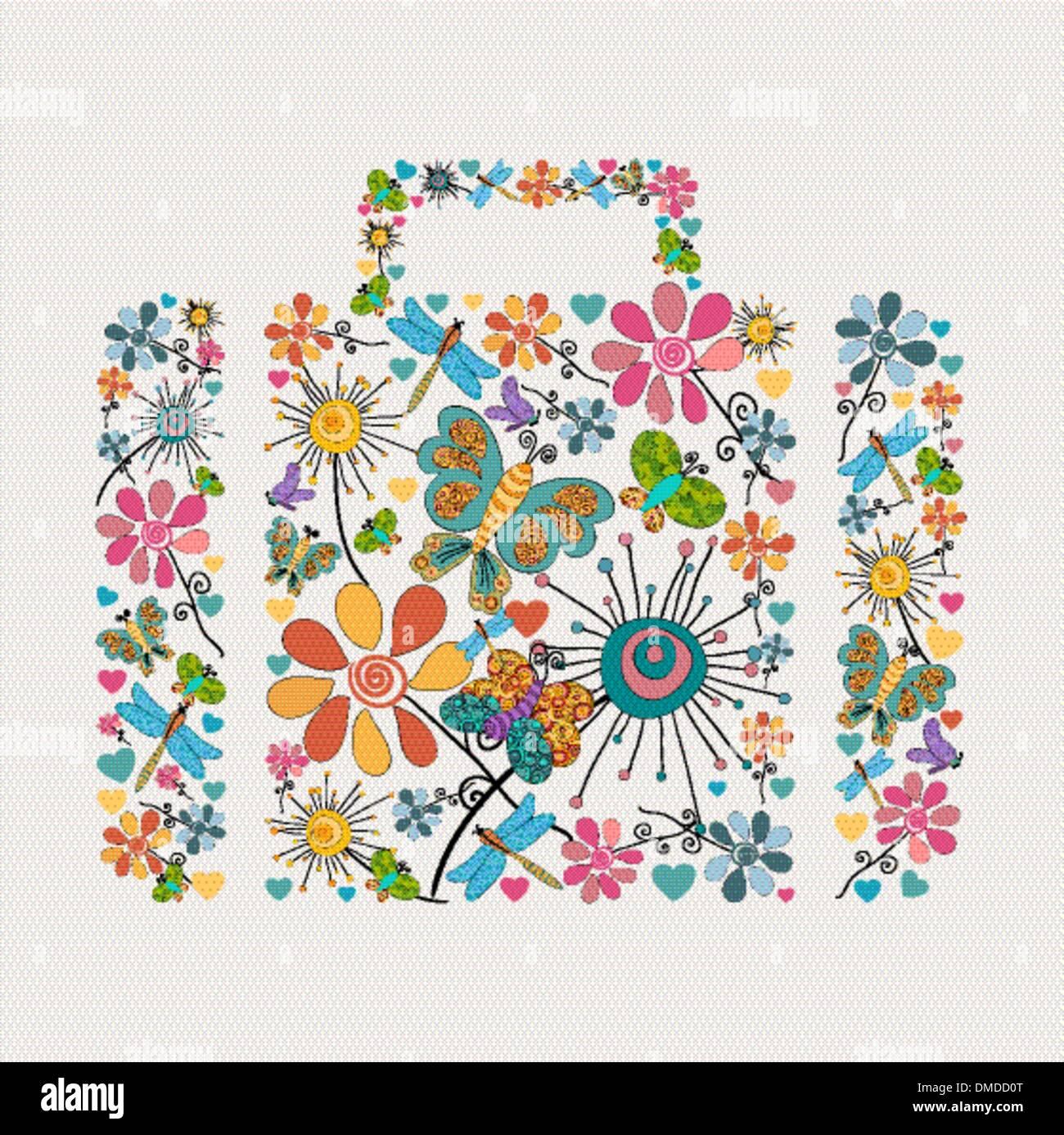 Concepto de negocio de primavera Ilustración del Vector