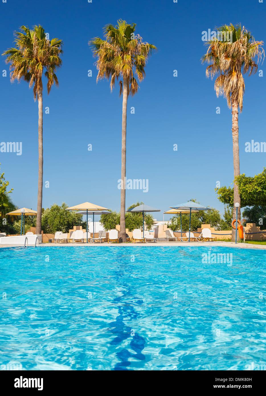 Tropical resort Foto de stock