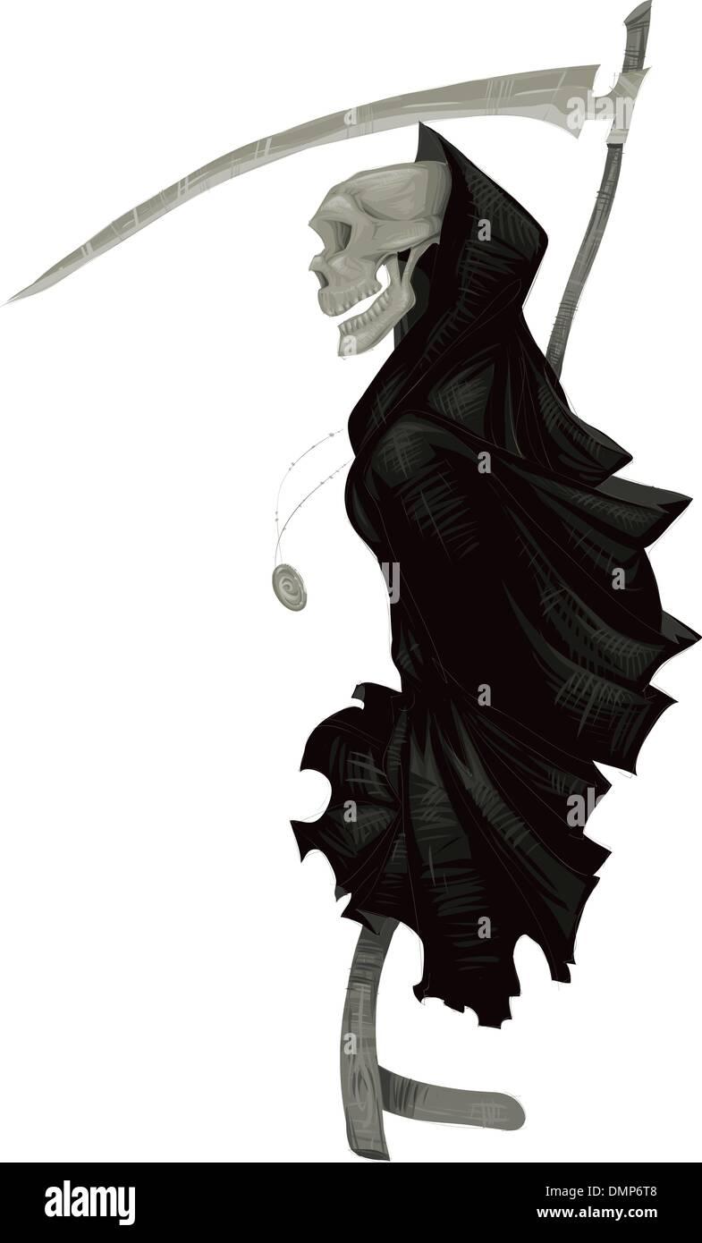 Muerte. Imagen De Stock