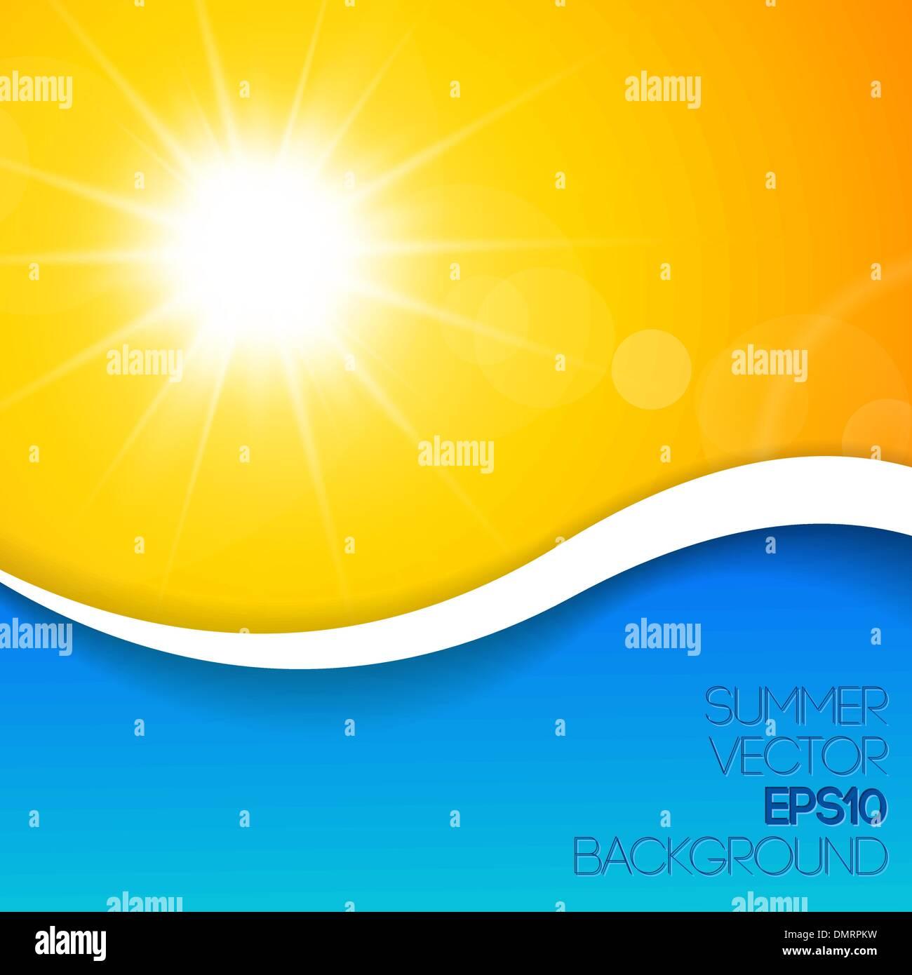 Fondo de verano con lugar para tu contenido Imagen De Stock