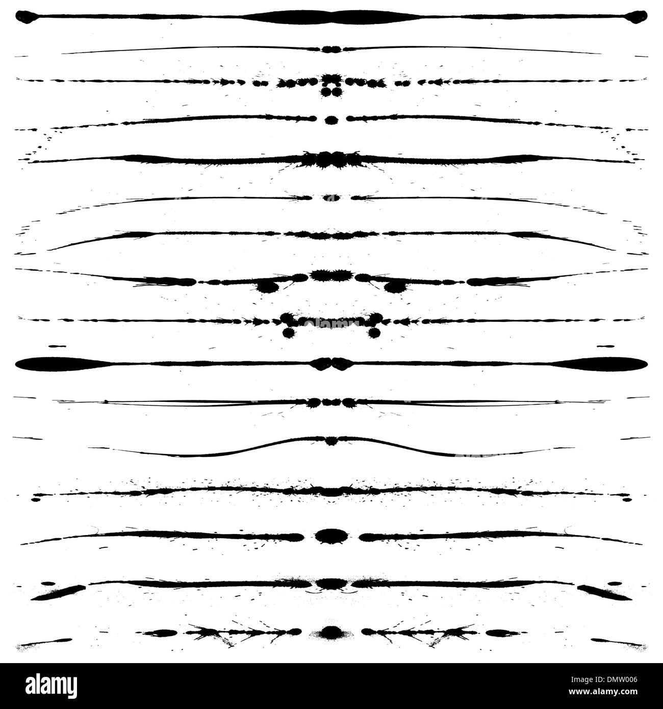 Líneas de Grunge Imagen De Stock