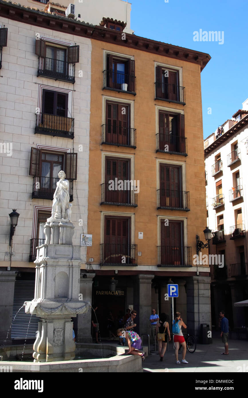 Plaza de la provincia, Madrid, España Imagen De Stock