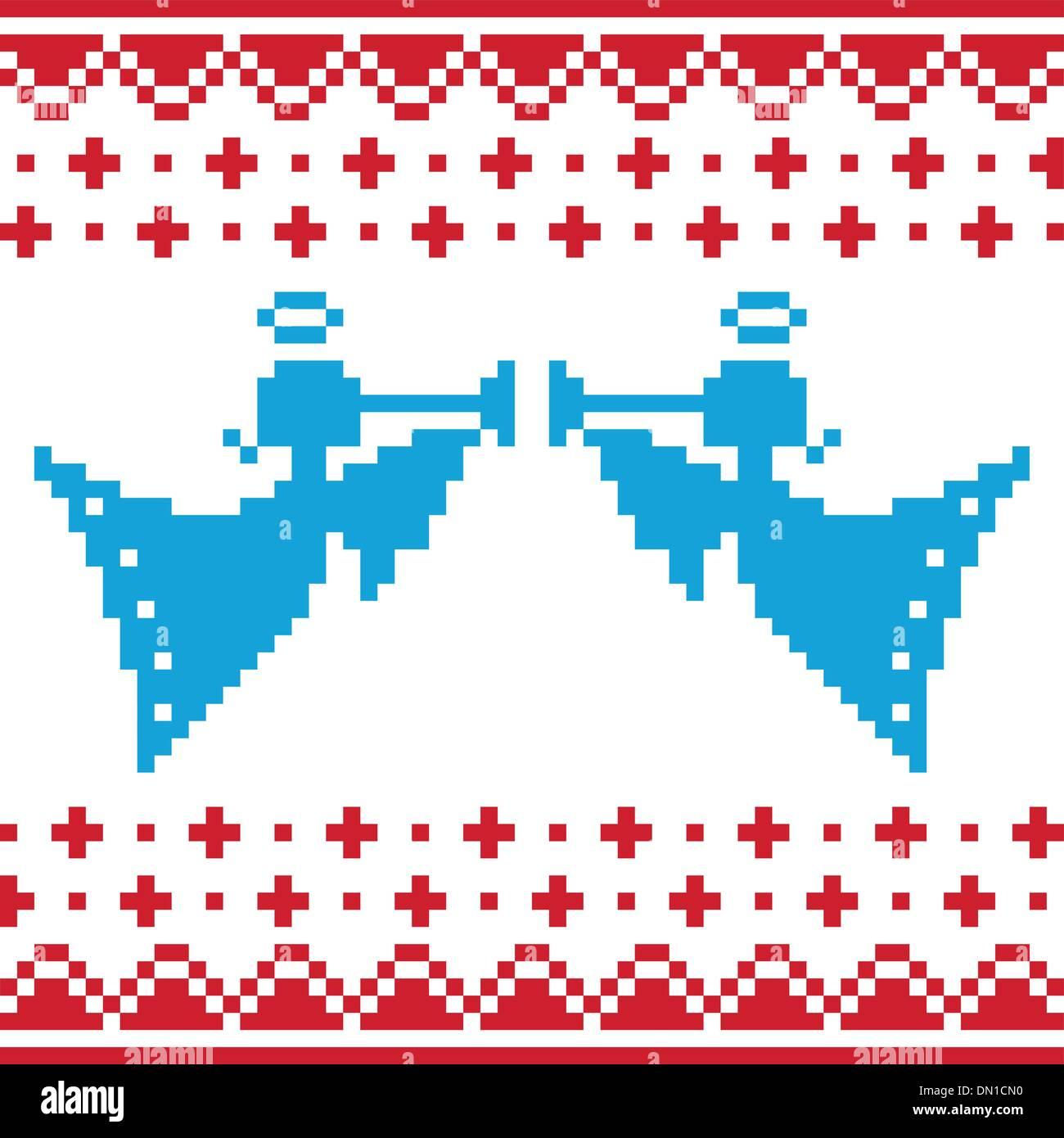 Love Christmas Pattern Scandinavian Sweater Imágenes De Stock & Love ...