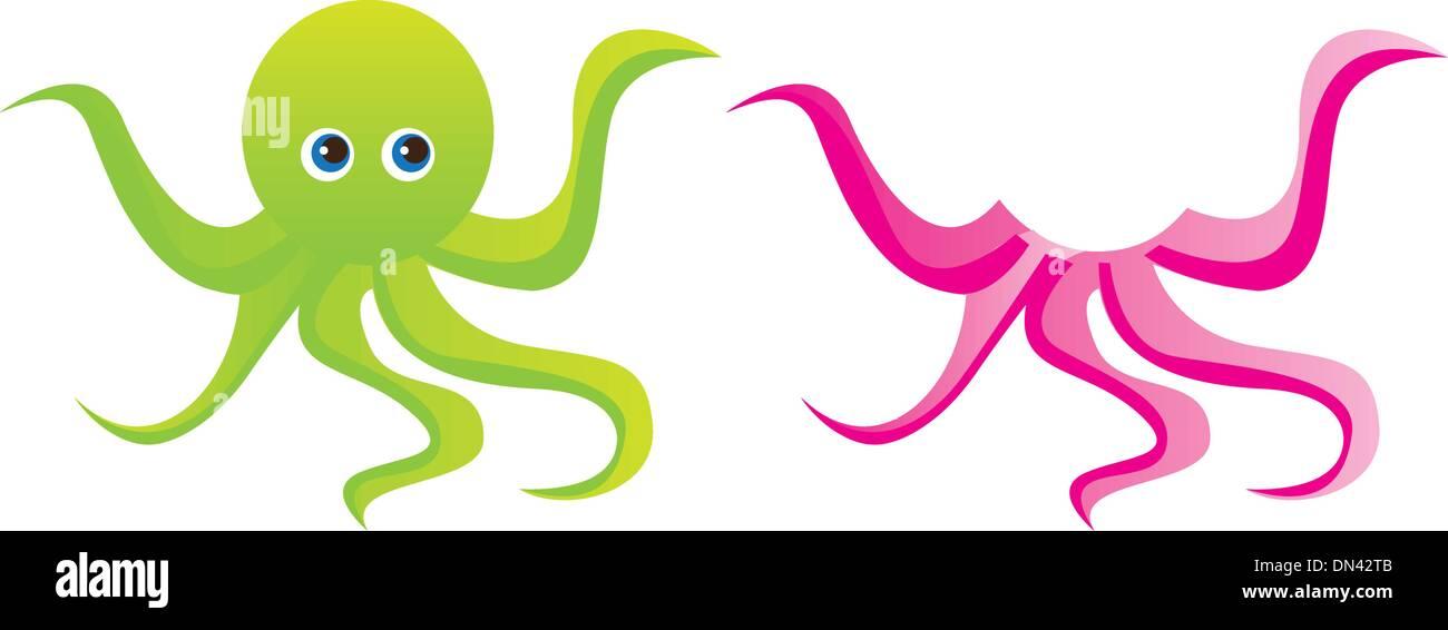 Cute Octopus Cartoon Imágenes De Stock & Cute Octopus Cartoon Fotos ...