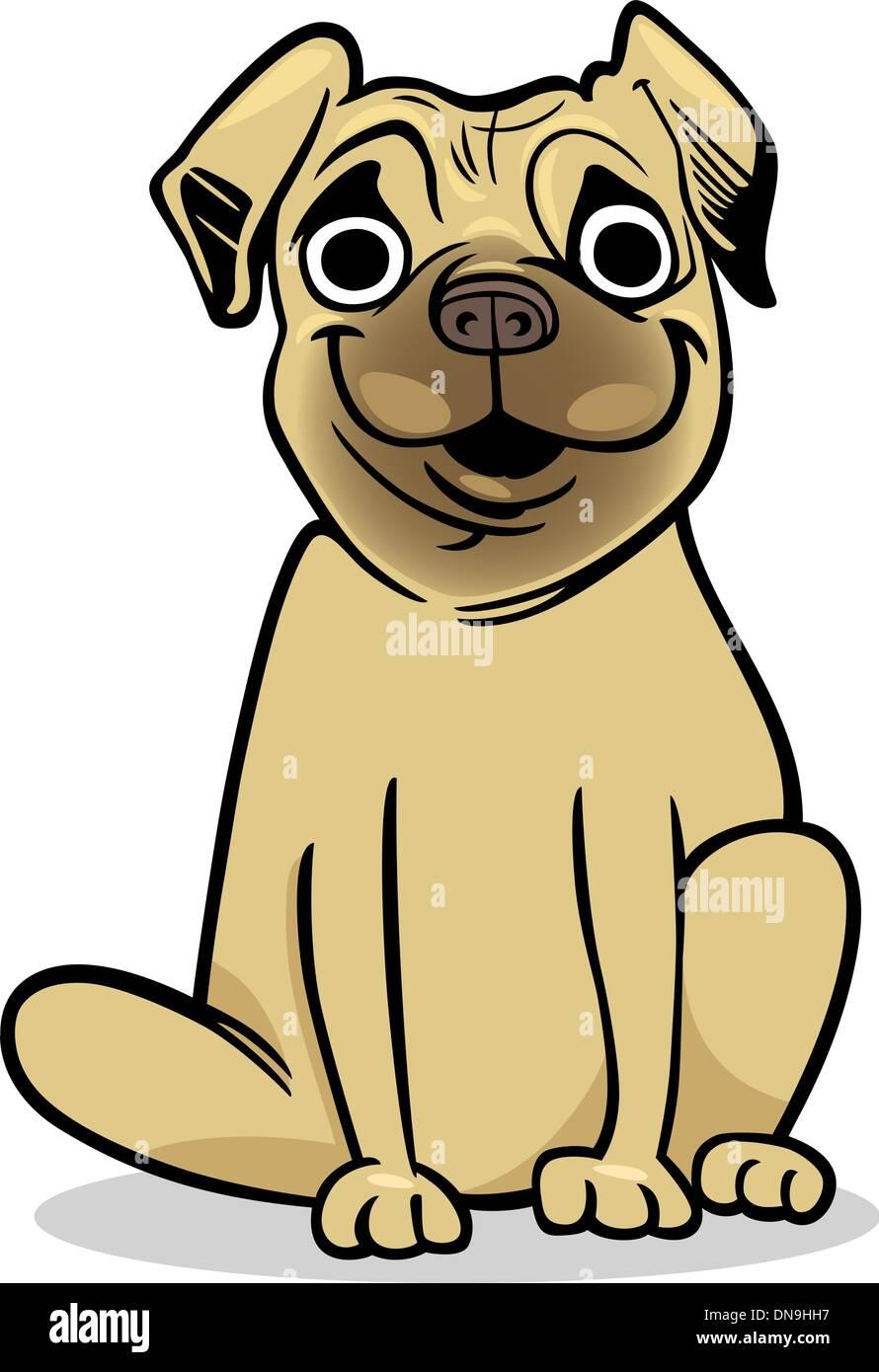 Vistoso Pug Para Colorear Foto - Dibujos Para Colorear En Línea ...
