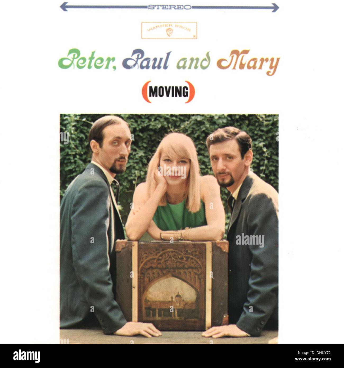 PETER PAUL Y MARY - circa 1960 - cortesía Granamour Weems Colección. Sólo para uso editorial Imagen De Stock