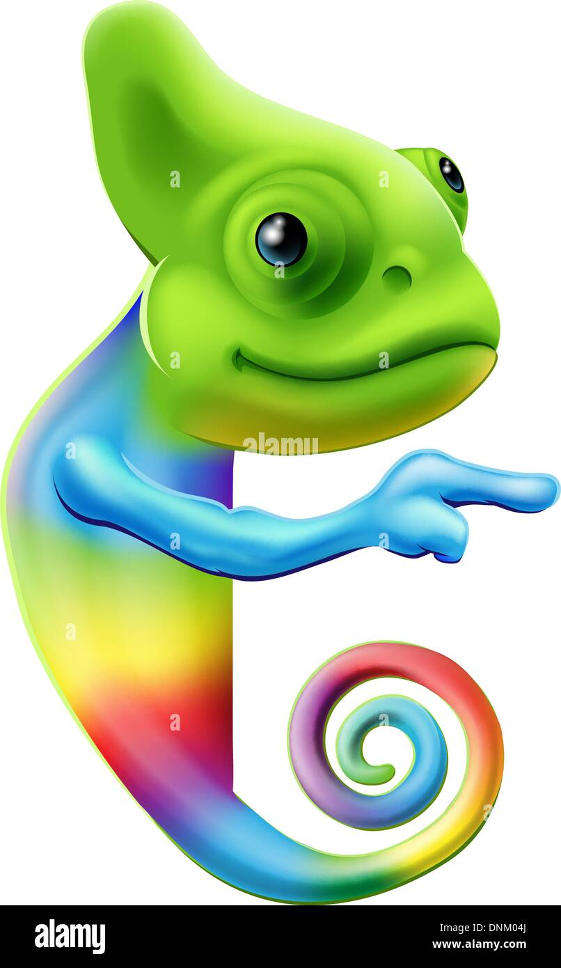 Una Ilustración De Un Arco Iris De Colores Bonitos De Dibujos