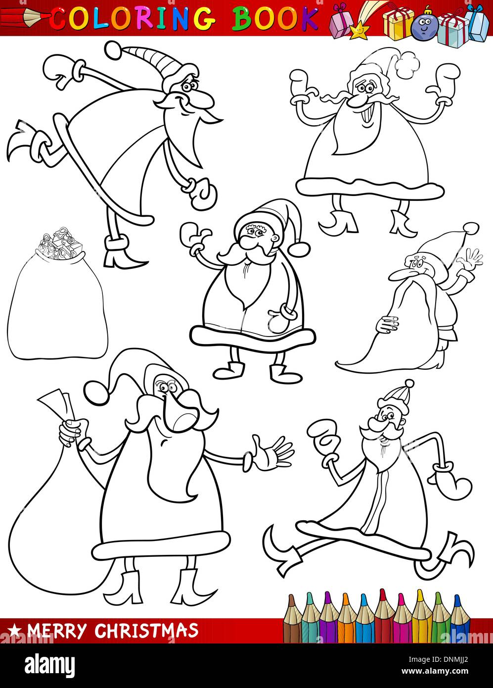 Asombroso Navidad Santa Claus Para Colorear Molde - Ideas Creativas ...