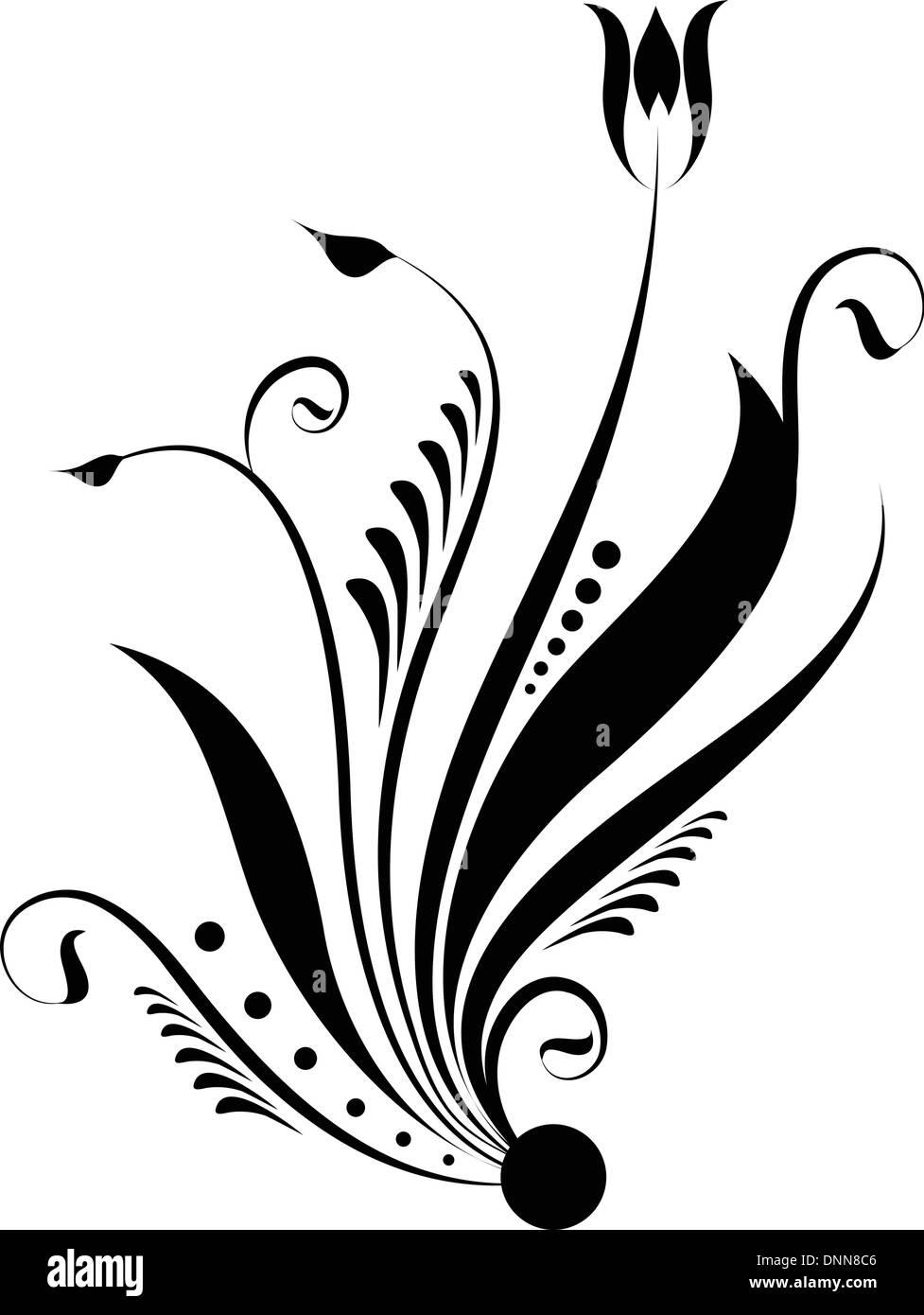 Diseño decorativo abstracto Imagen De Stock
