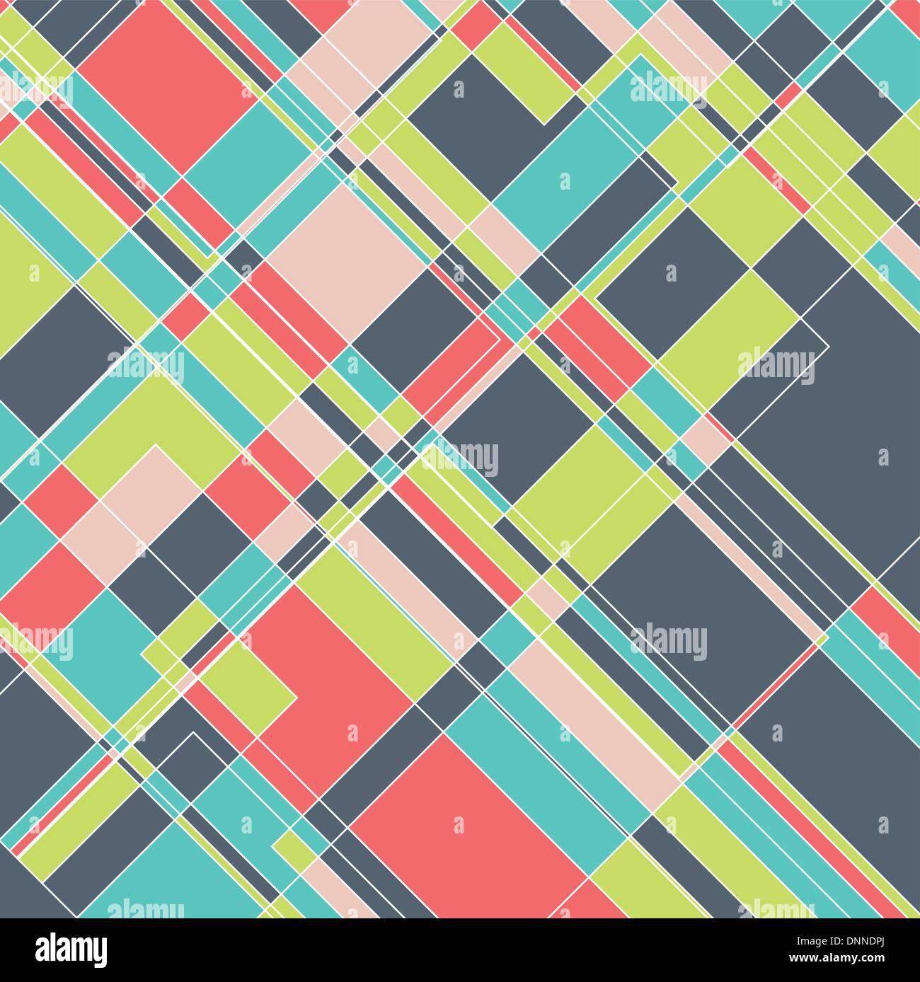 Fondo con diseño abstracto con un patrón geométrico Ilustración del Vector