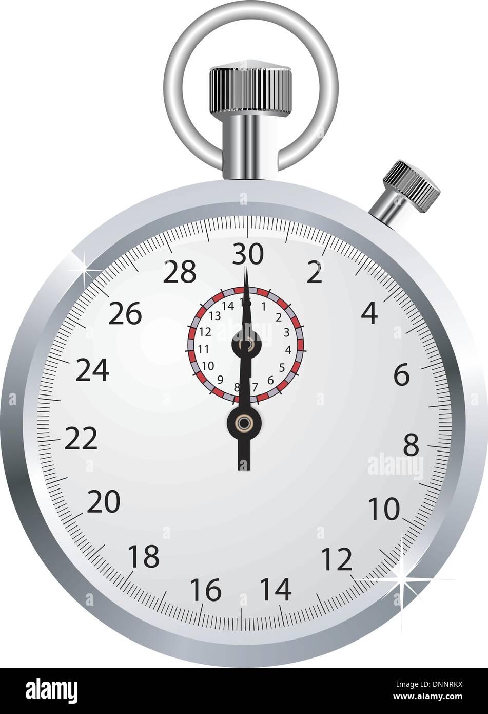 Cronómetro de vectores Imagen De Stock