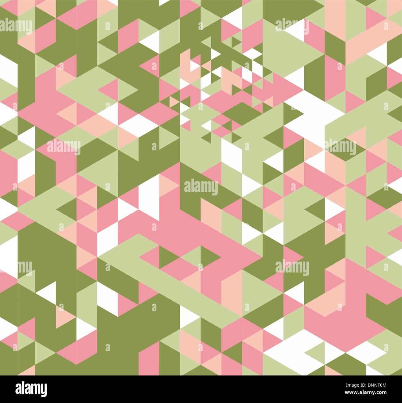 Hipster geométricas retro de fondo. Triángulo Retro antecedentes vectoriales Imagen De Stock