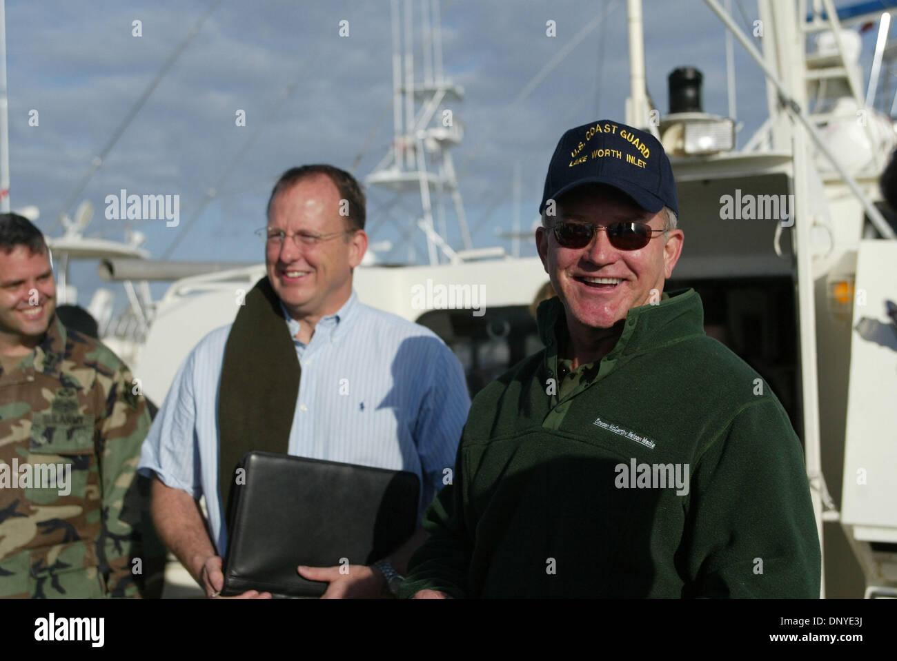Jan 28, 2006; puerto de Salerno, FL, EEUU; el ex representante Mark Foley está en un centro de tratamiento del alcoholismo Foto de stock