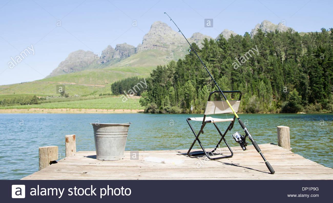 Outdoor pursuit im genes de stock outdoor pursuit fotos - Silla de pescar ...