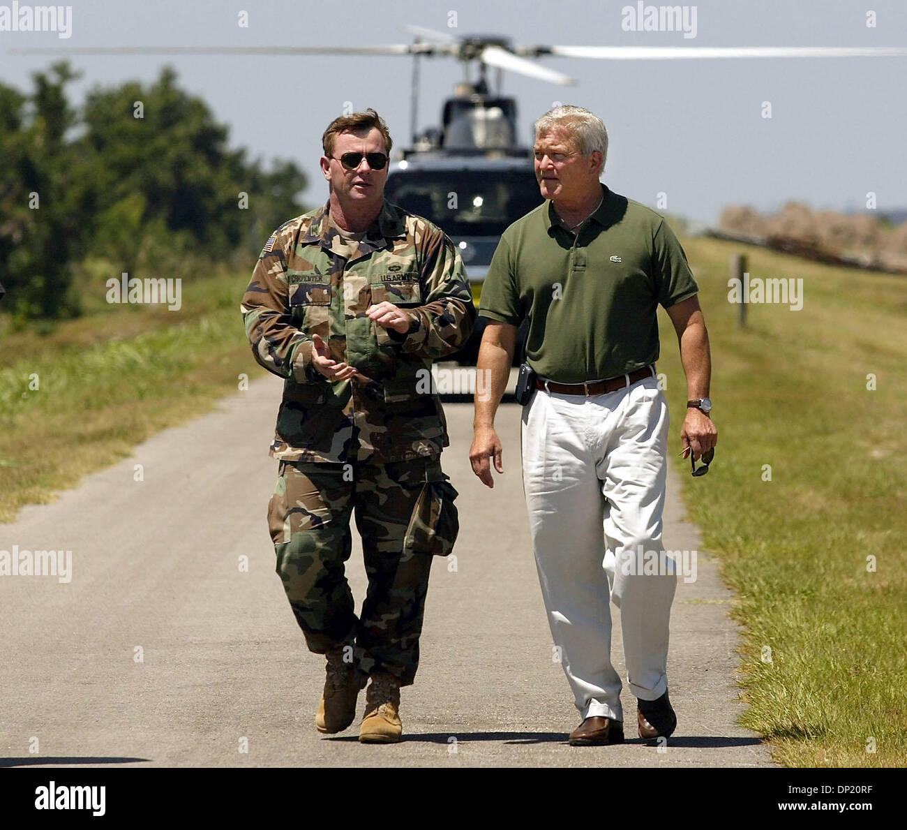 Mayo 12, 2006; Pahokee, Florida, EE.UU.; el ex representante Mark Foley está en un centro de tratamiento del alcoholismo Foto de stock