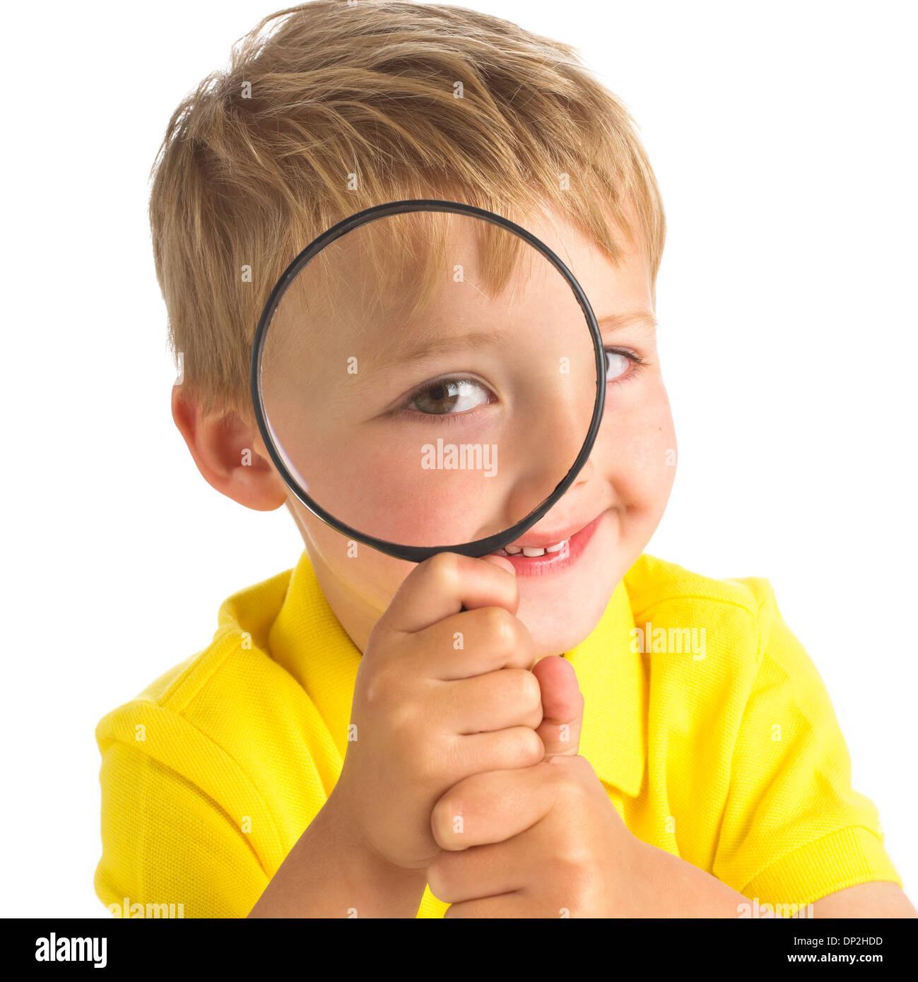 La curiosidad, la imagen conceptual Imagen De Stock