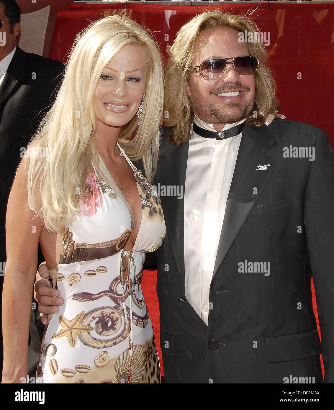 Jul 12, 2006; Hollywood, CA, EE.UU.; El Músico Vince Neil
