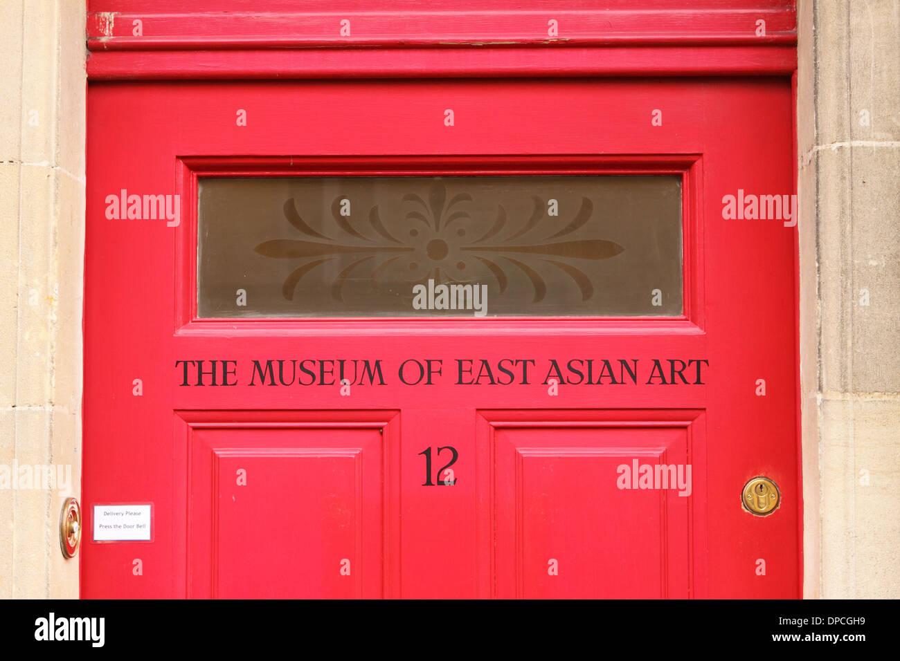 Baño - El Museo de Arte Oriental entrada en Bath Inglaterra Imagen De Stock
