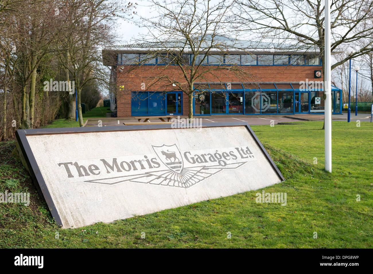 La sede de la MG o Morris Garages Propietarios Club en Cambridgeshire Swavesey UK Foto de stock