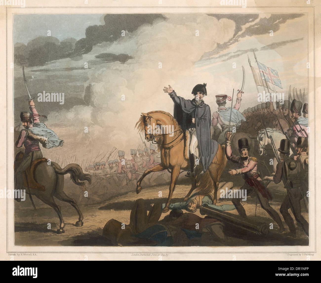 WELLINGTON en Waterloo Imagen De Stock