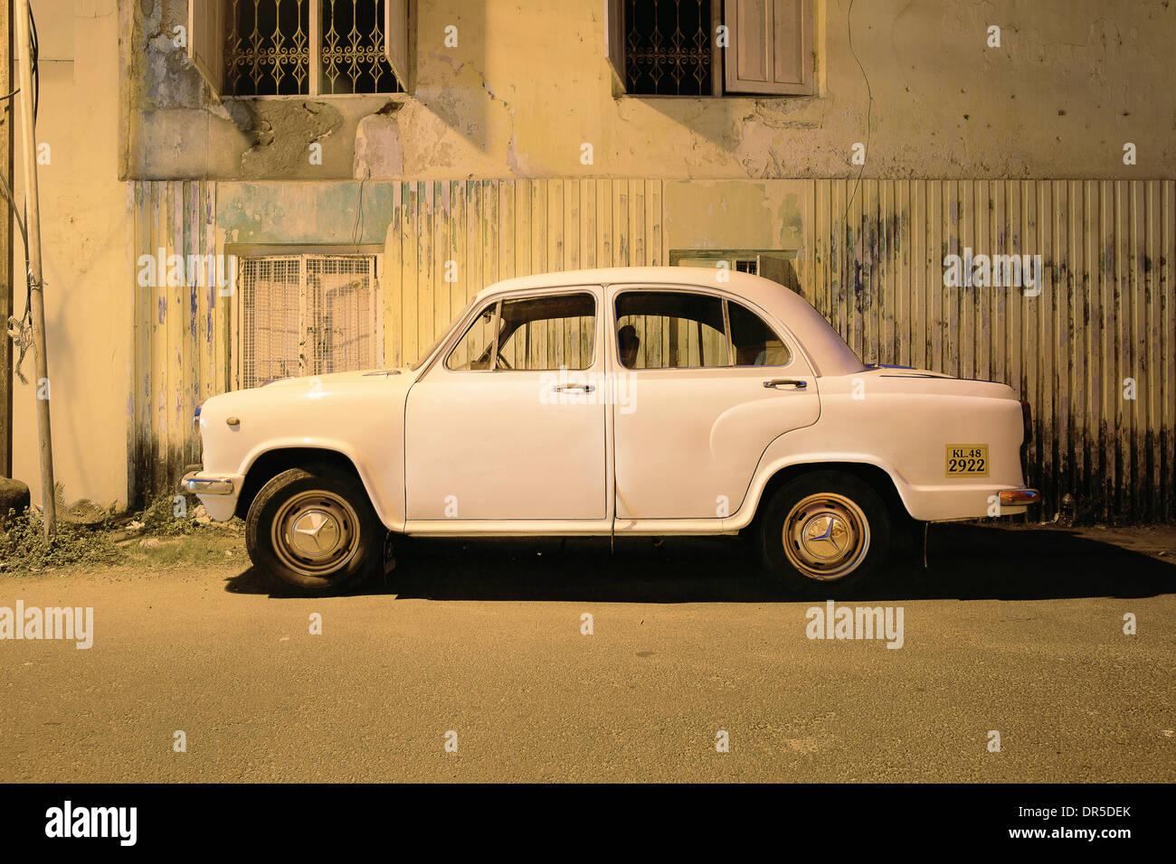 El Embajador coche,India Foto de stock