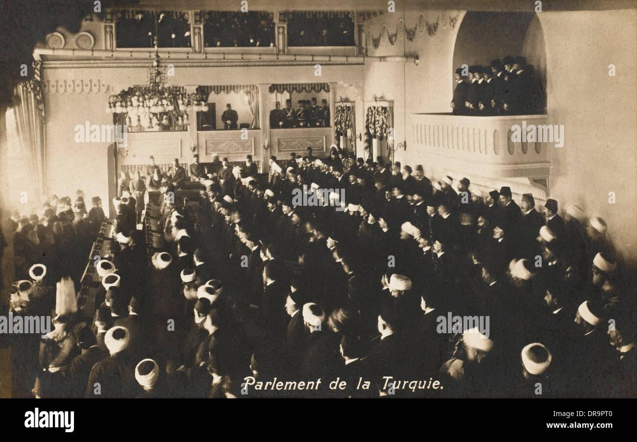 El Sultán Abdul Hamid II - el Parlamento de Turquía Foto de stock