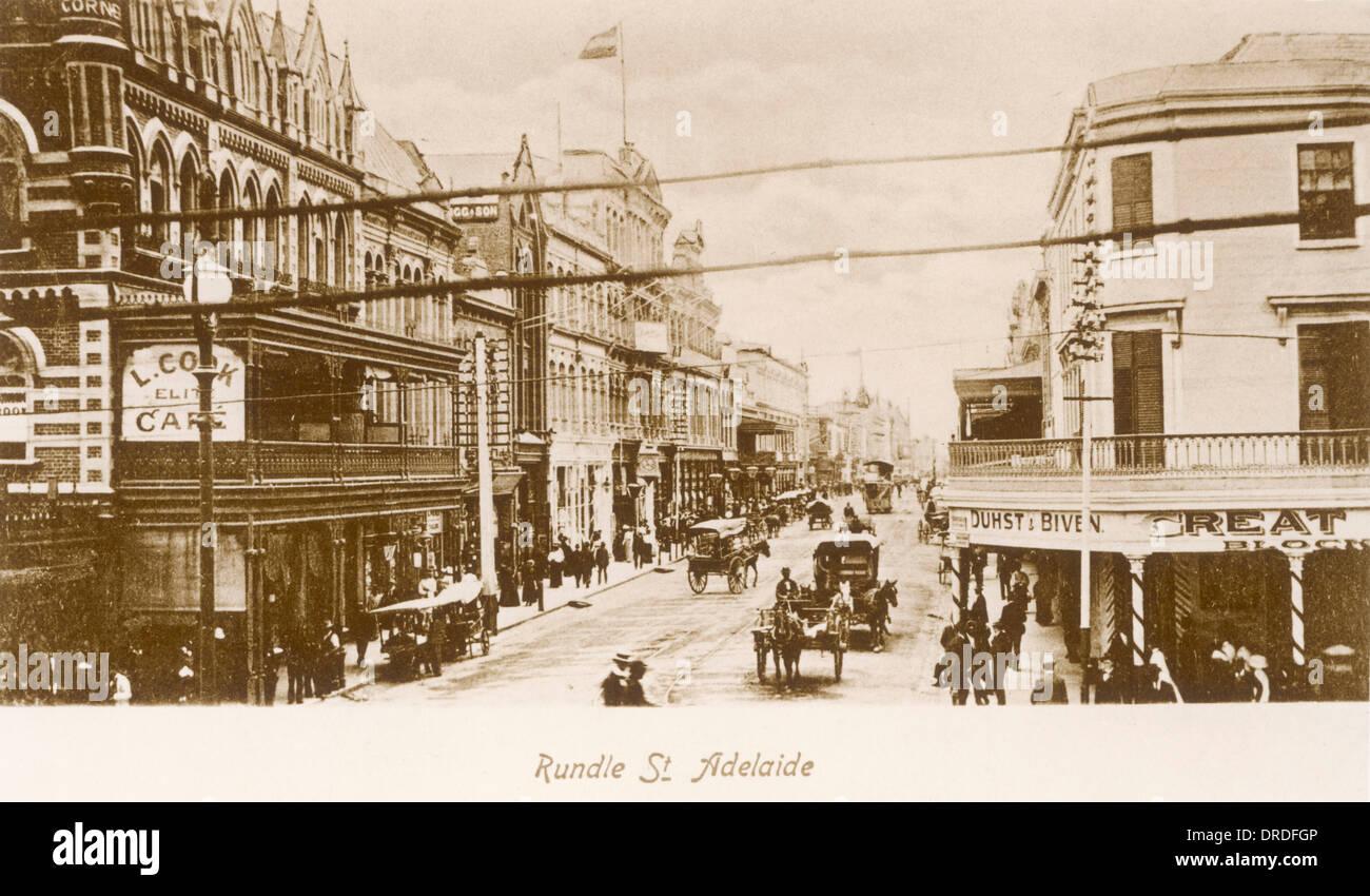 Adelaida del siglo XIX. Imagen De Stock