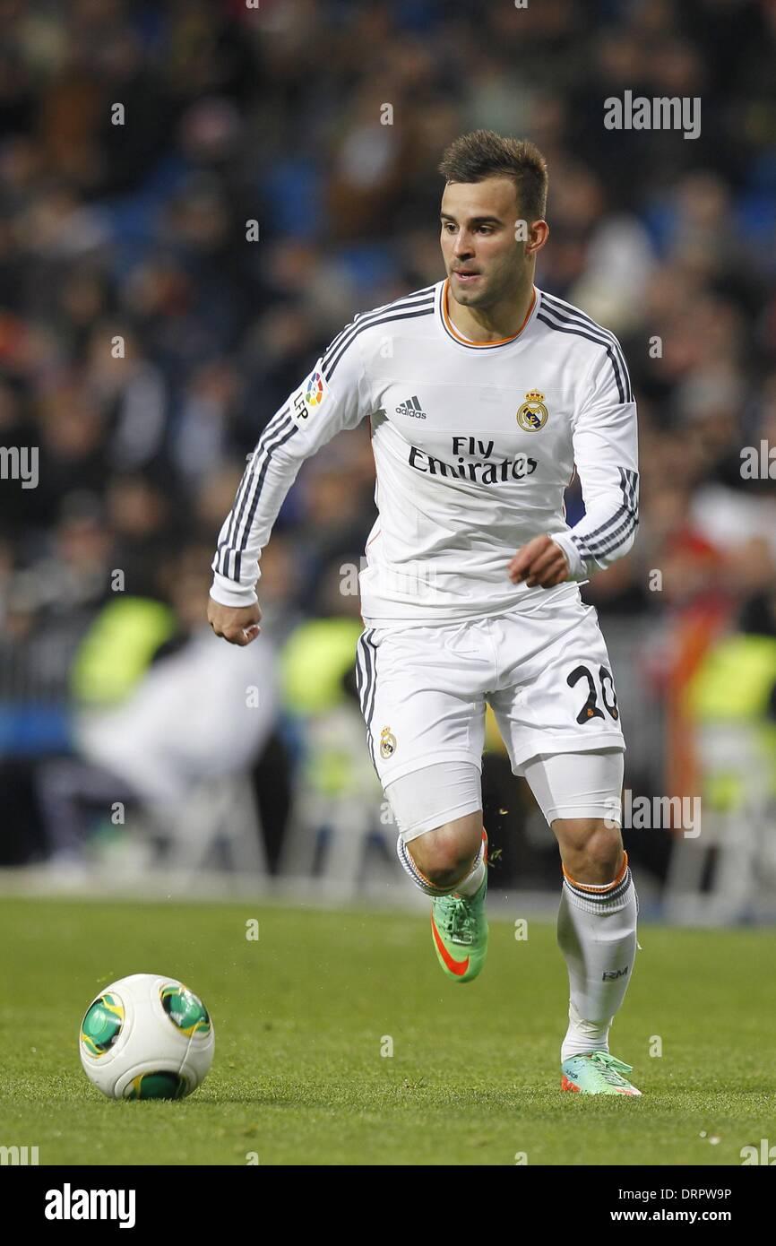 Madrid, España. 28 ene, 2014. Jese Rodríguez (Real) / Fútbol Soccer ...
