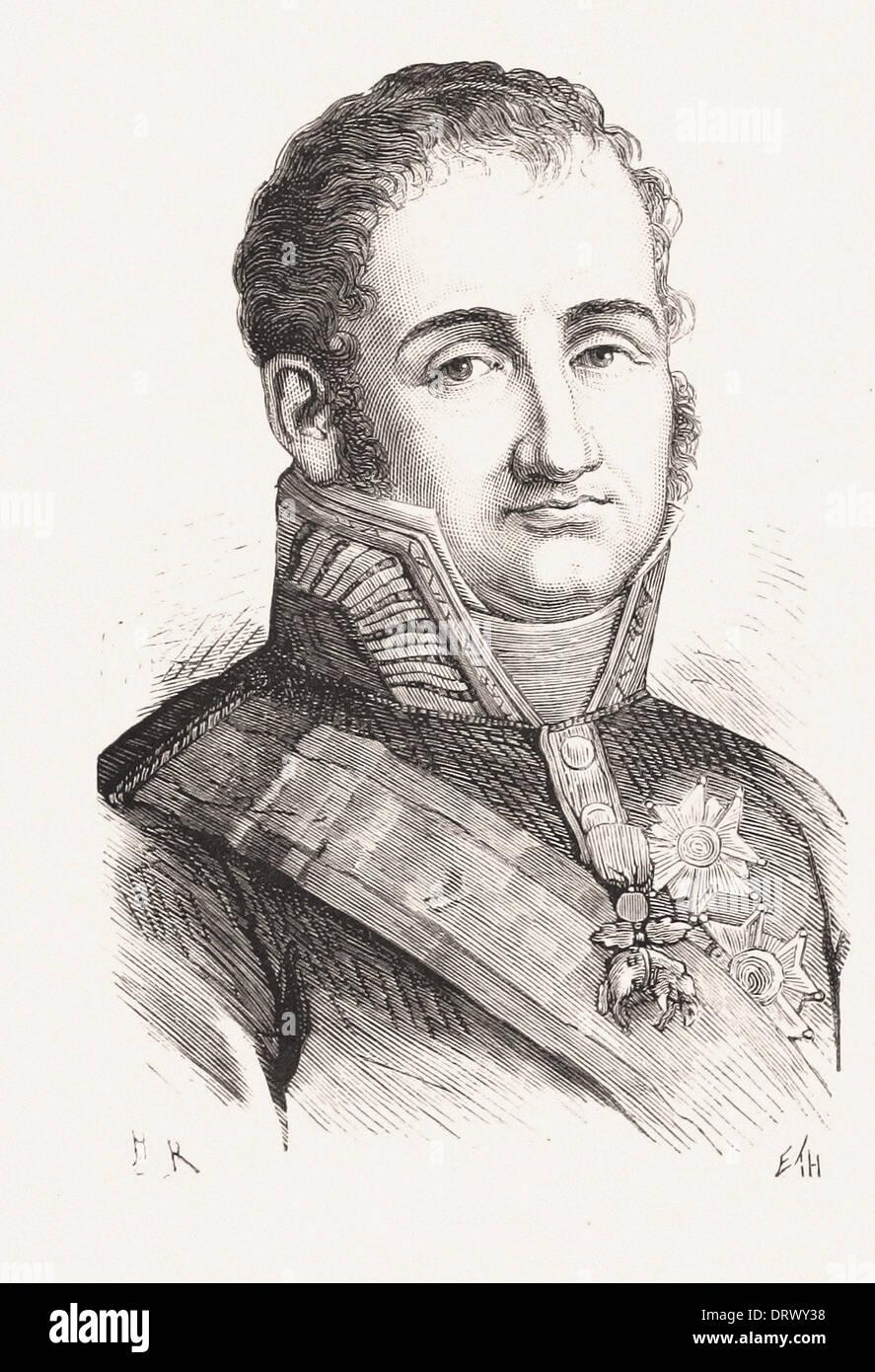 Retrato de Fernando VII - Grabado francés del siglo XIX Foto ...