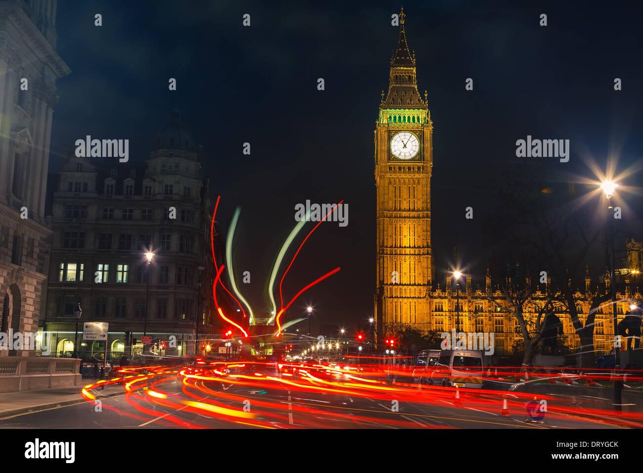 Londres de noche Imagen De Stock
