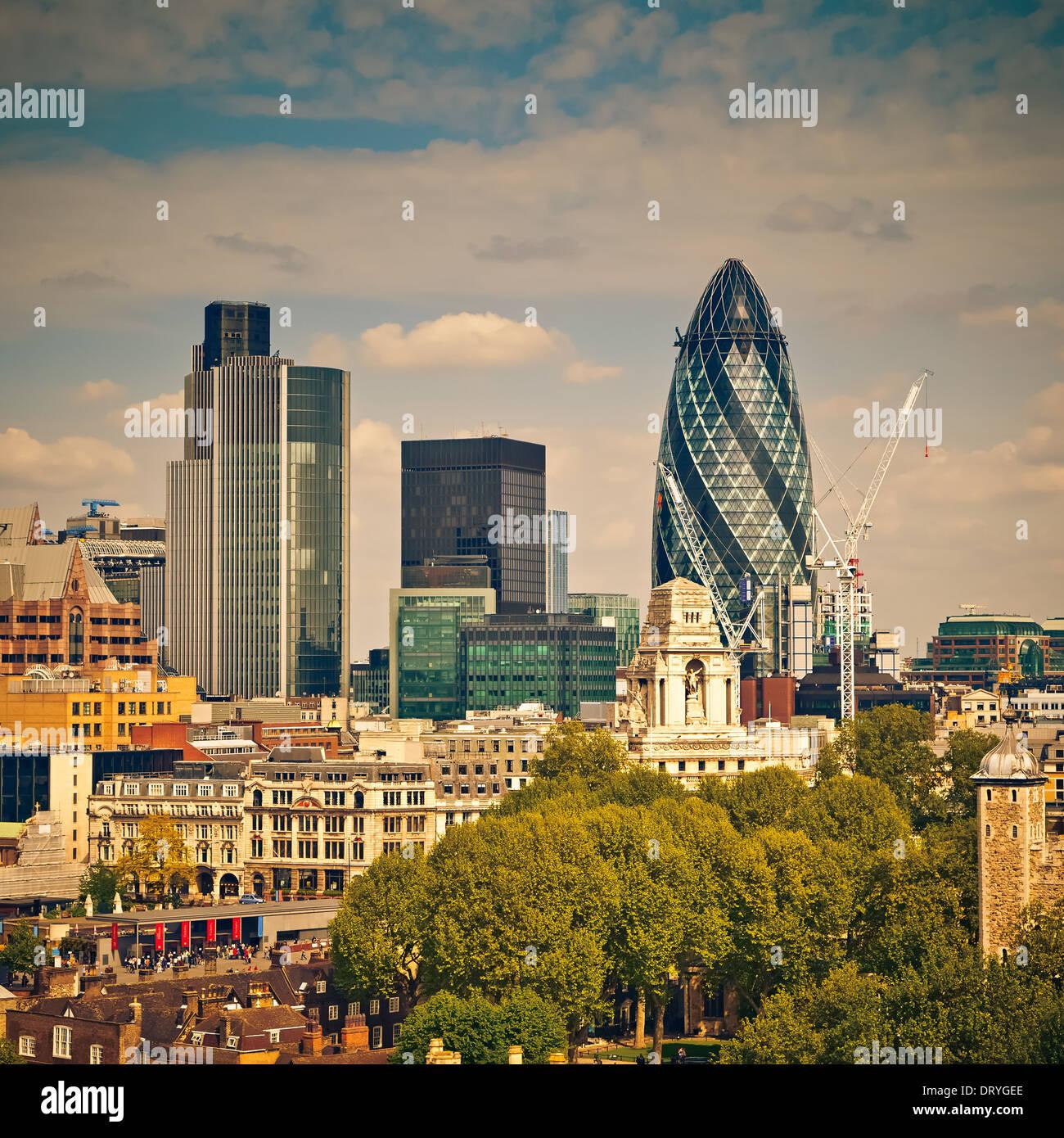 Ciudad de Londres Imagen De Stock