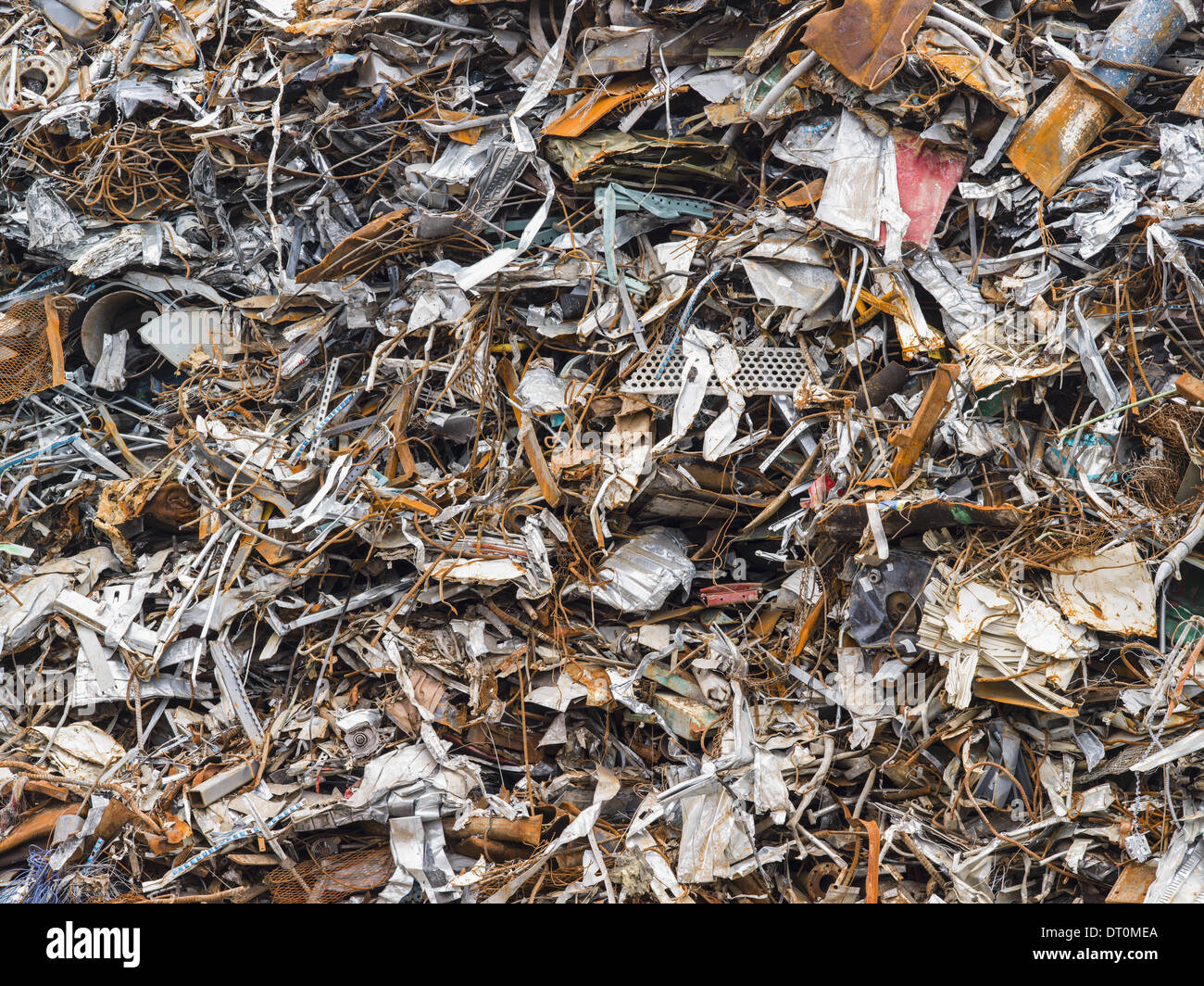 Washington Estados Unidos montón de chatarra para reciclaje Imagen De Stock