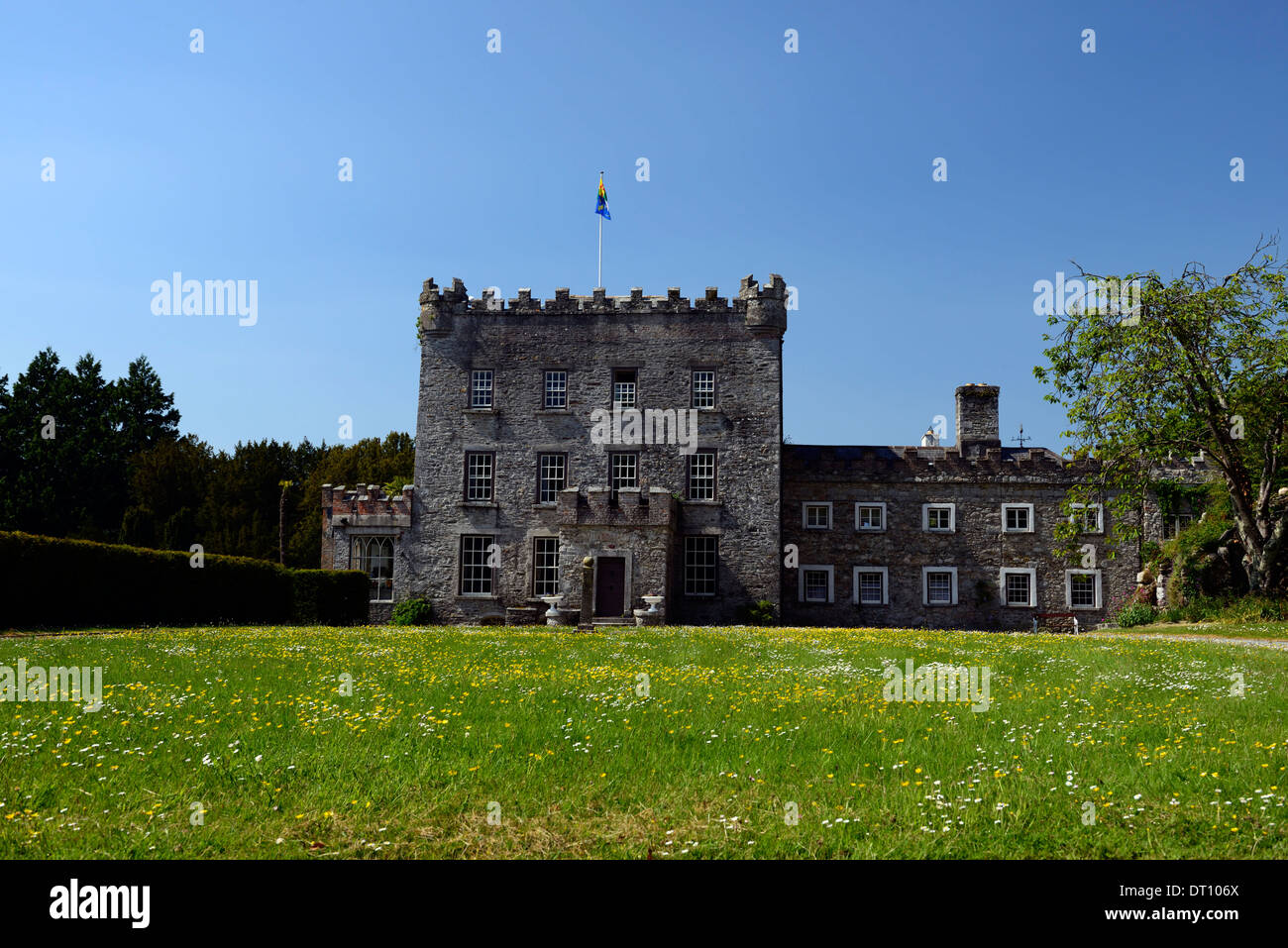 Castillo de Huntington clonegal carlow Fellowship de Isis castillo plantation Imagen De Stock