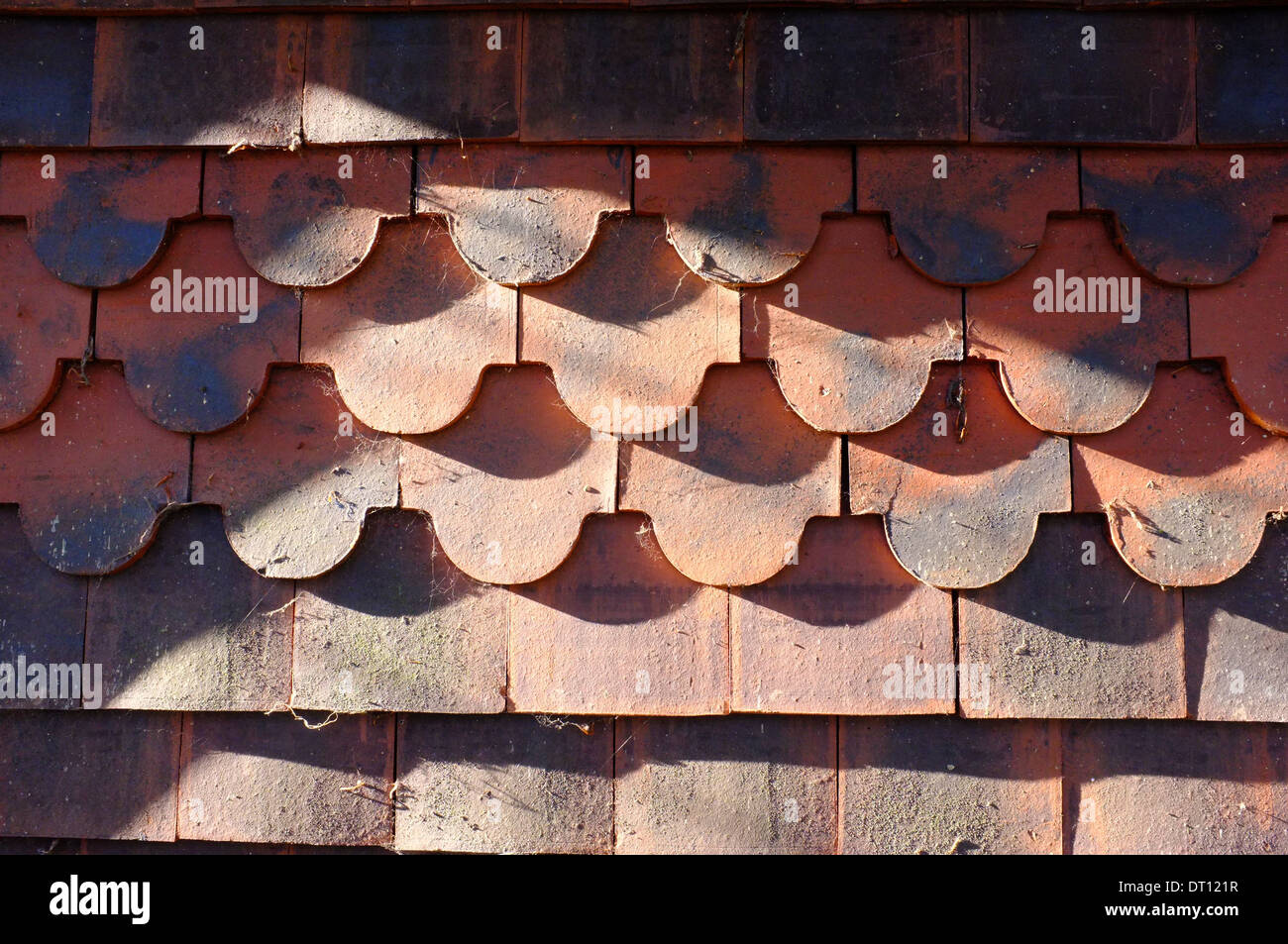 Azulejos de terracota decorativa Imagen De Stock